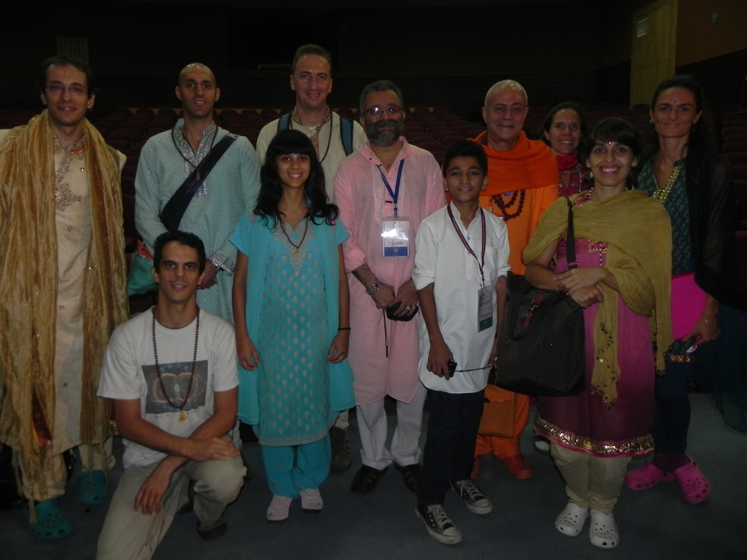 3rd International Yoga Seminar - Ujjein, Índia - 2012, octobre
