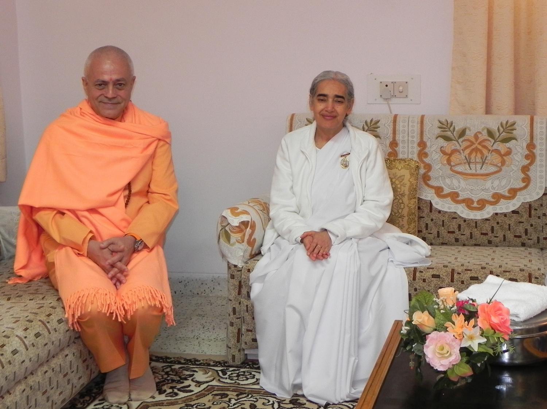 With B.K. Jayanti