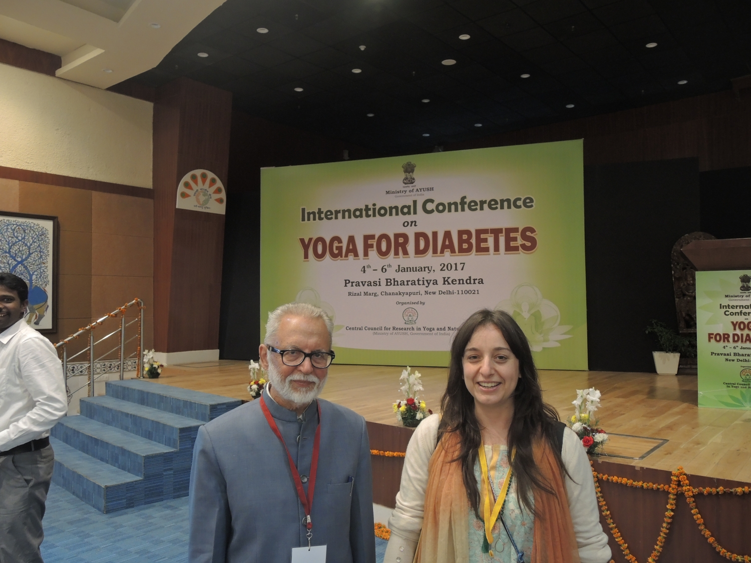 Dr. R.L. Bijlani, Former Prof. and Head of Departmente of Physiology, AIIMS, New Dillí, India