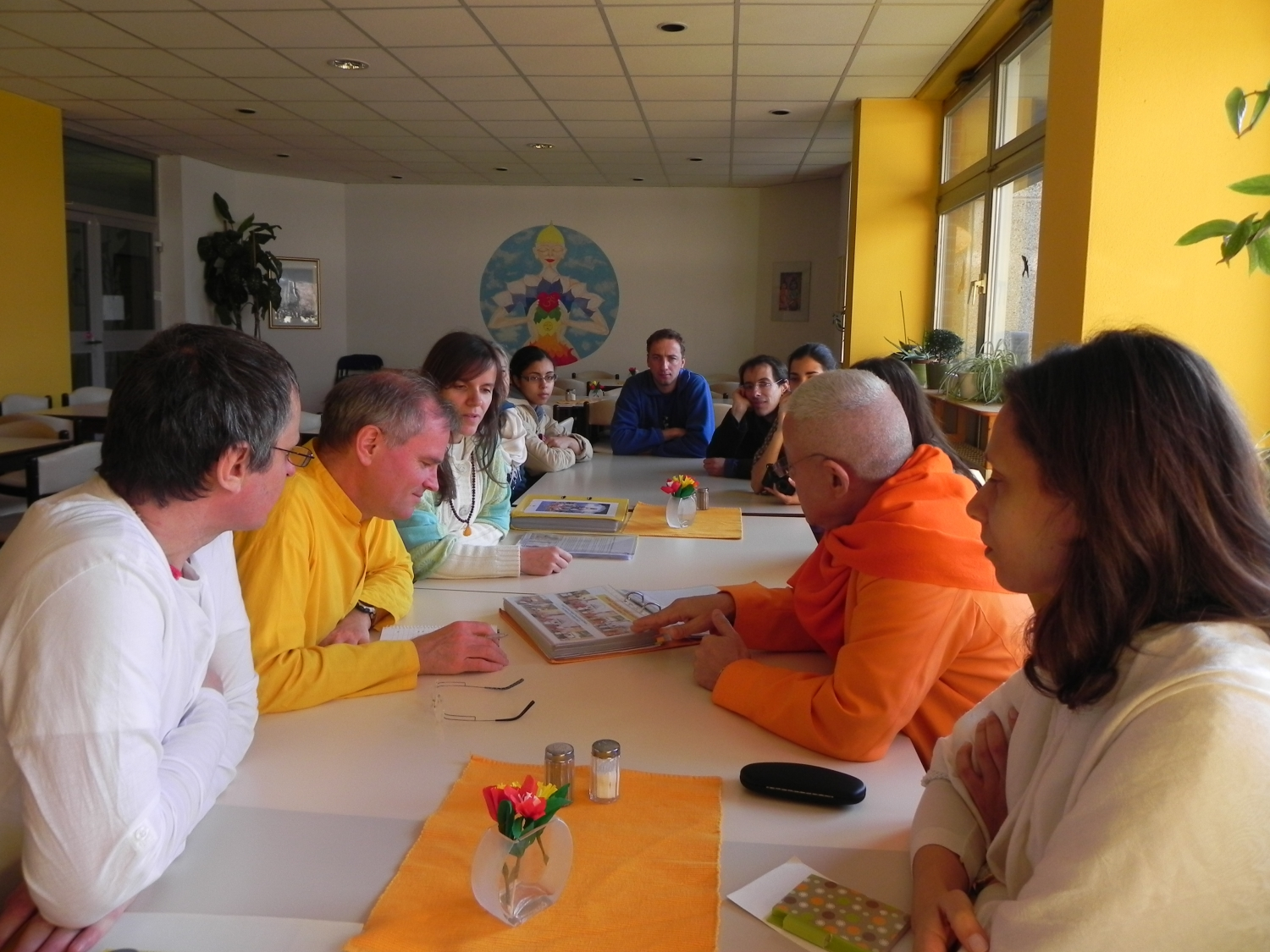 Meeting with Master Sukadev Bretz - Yoga Vidya, Bad Meinberg, Germany - 2012, March