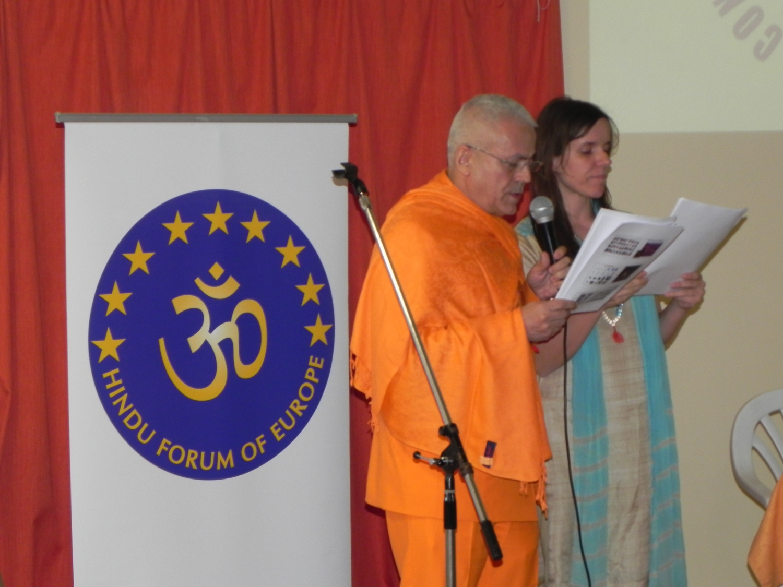 Speech by H.H. Jagat Guru Amrta Súryánanda Mahá Rája -  Radhadesh, ISKCON Hare Krshna, Belgium - 2012, March