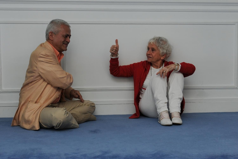 Con Maestra Eva Ruchpaul, Paris