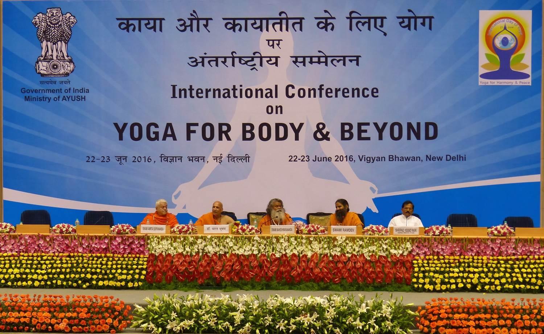 International Day of Yoga / IDY 2016 - International Conference - New Dillí, Índia - 2016, Junho 22 e 23