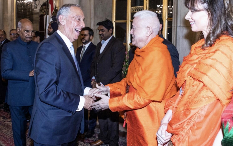 Visita de Estado do Presidente da República Portuguesa à Índia - 2020, Fevereiro