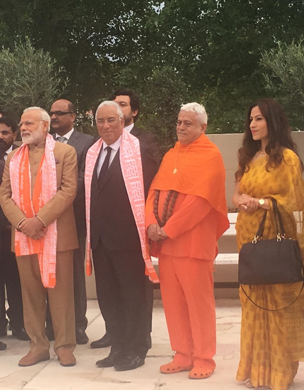 Visita do Primeiro Ministro da Índia Shrí Narendra Modi a Portugal - Comunidade Hindu de Portugal - 2017, Junho, 24