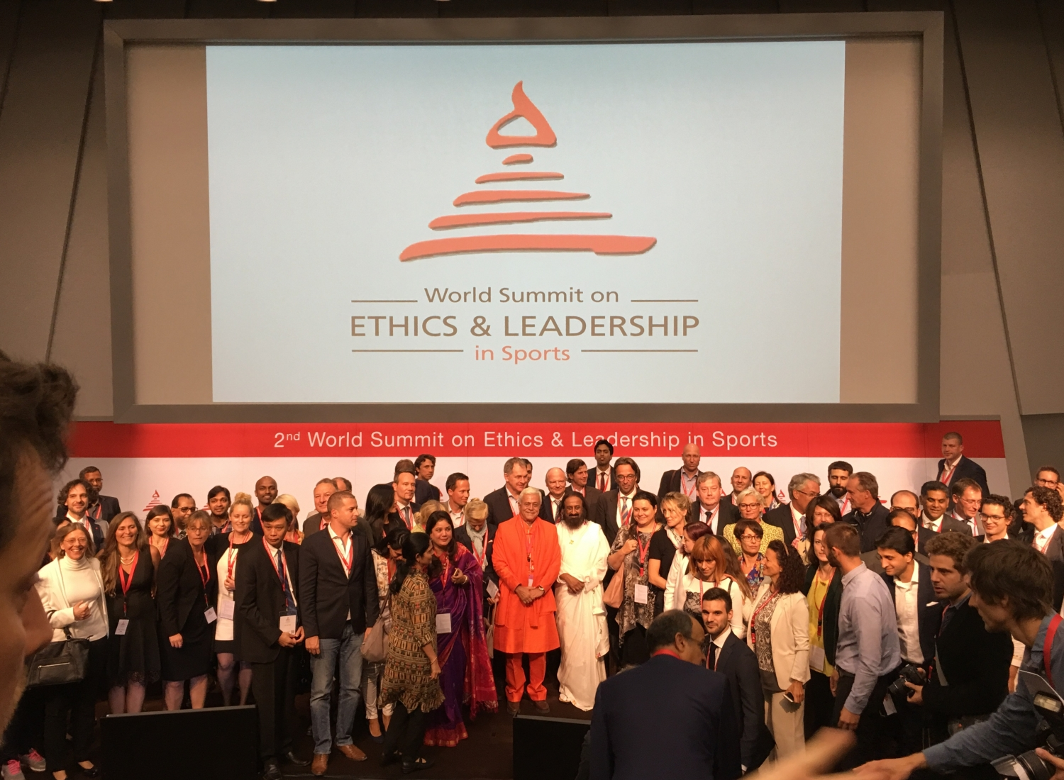 2nd World Summit on Ethics & Leadership in Sports - Zurich, Suiça - 2016, Setembro