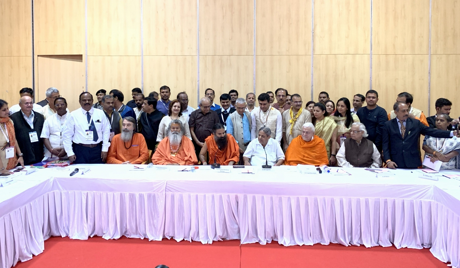 Meeting of the Indian Yoga Association - IYA