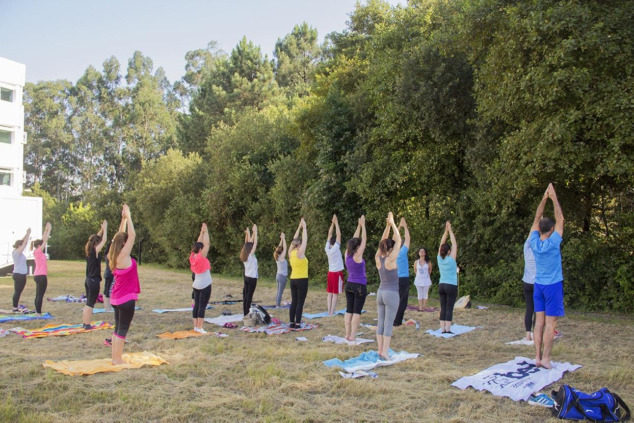 Yoga Sámkhya Class in BIAL