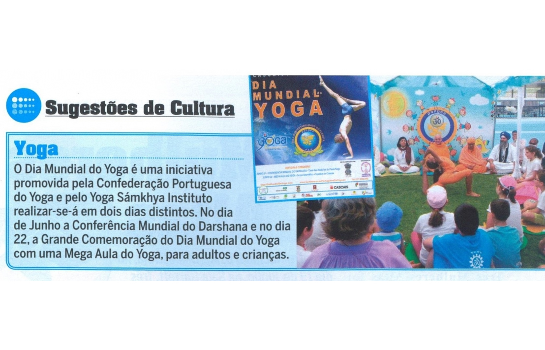 Imprensa - Dia Internacional do Yoga 2014