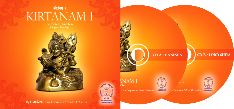 CD Duplo de Kírtanam pelo Omkára