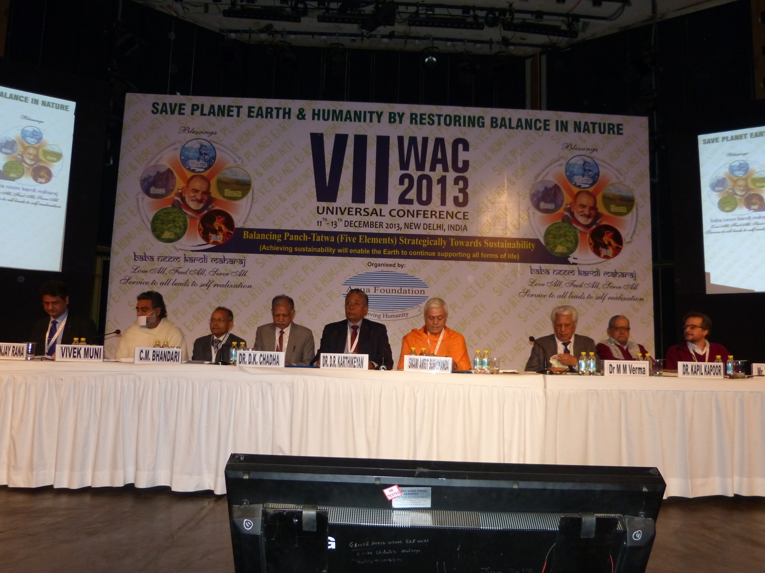 VII World Aqua Congress - New Dillī - 2013