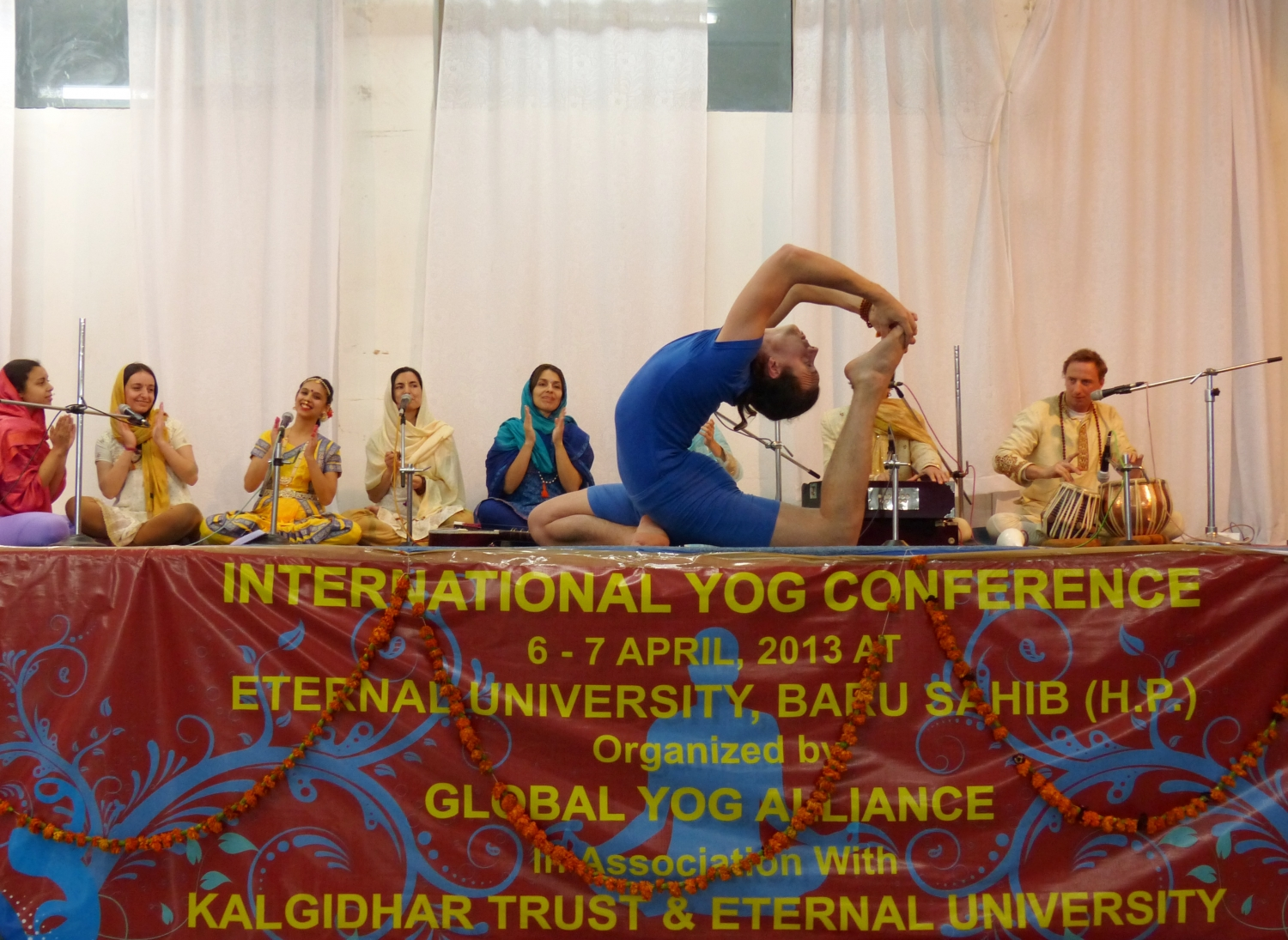 International Yoga Conference - Eternal University, Baru Sahib - 2013, Abril