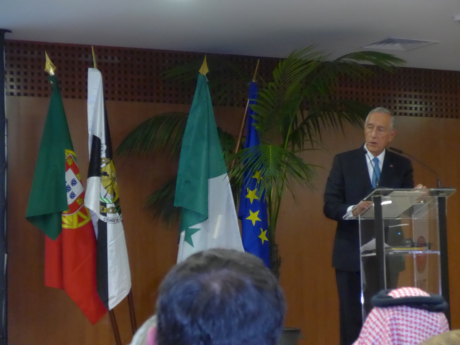 President of the Republic, Dr. Marcelo Rebelo de Sousa