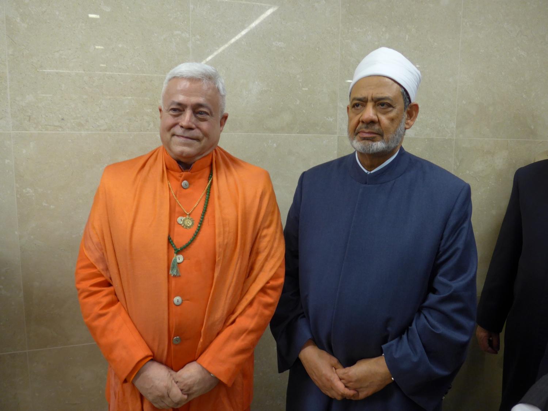 Grand Imam de la Mosquée / Université Al Azhar, Qairo, Sheik Ahmad Mohammad El Tayyeb