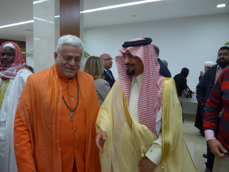 Com o Sr. Embaixador da Arábia Saudita
