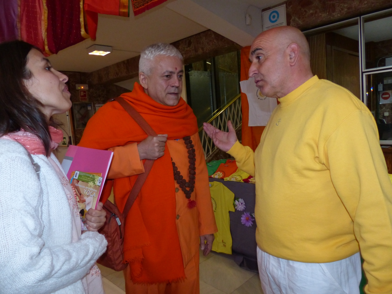40º Aniversário do Centro do Yoga Shivánanda de Madrid - 2013, Junho