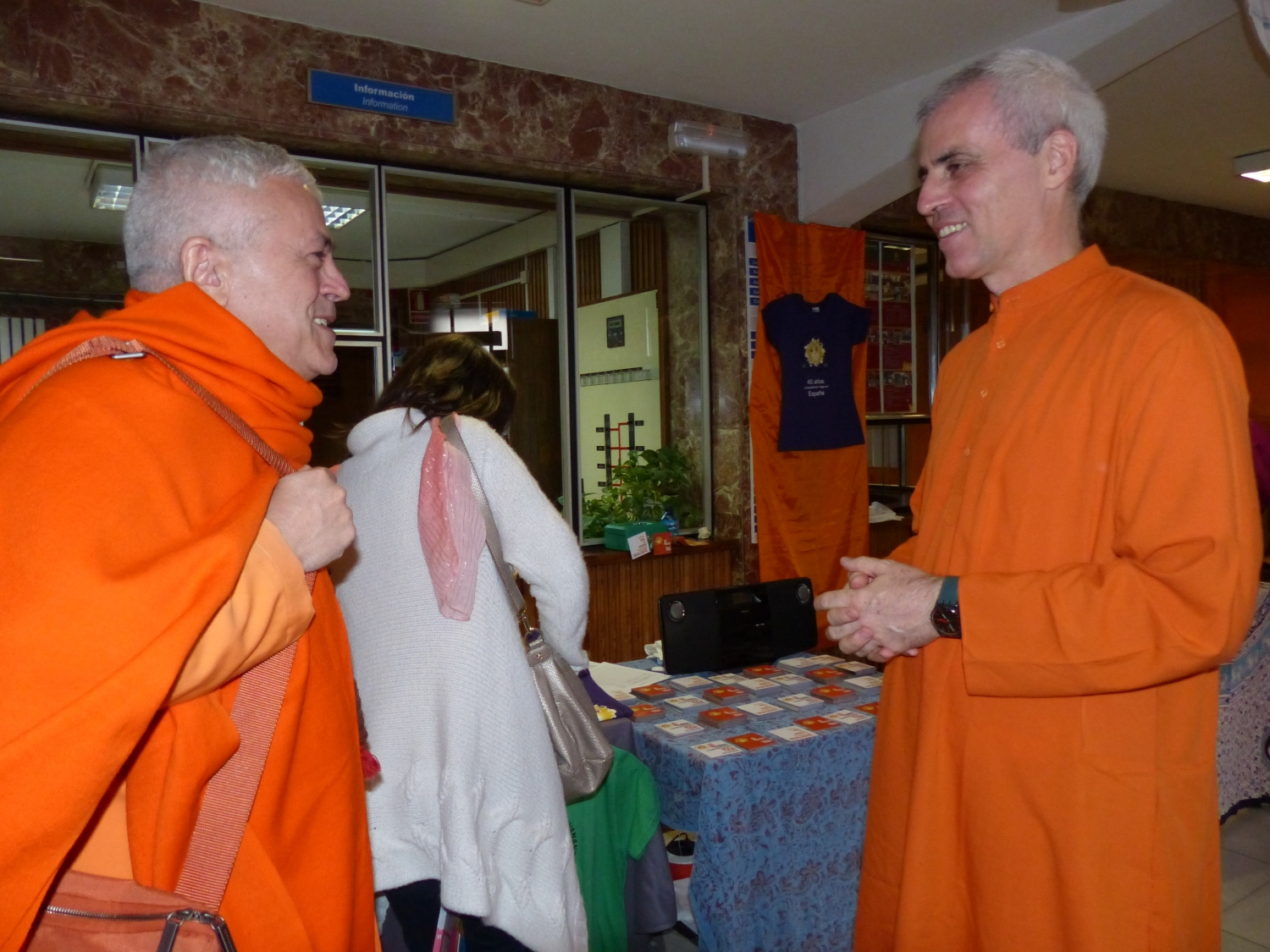 40th Anniversary of the Shivánanda Yoga Centre of Madrid - 2013, June