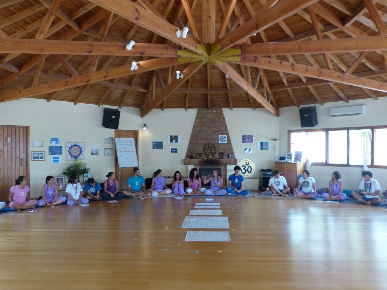 Semana Intensiva do Yoga - 2014 - Quinta da Calma, Algarve