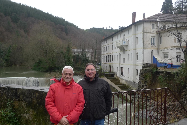 Encuentro de H.H. Jagat Guru Amrta Sūryānanda Mahā Rāja con el Maestro Madhavacharya - Zestoa, Euskadi - 2012, enero