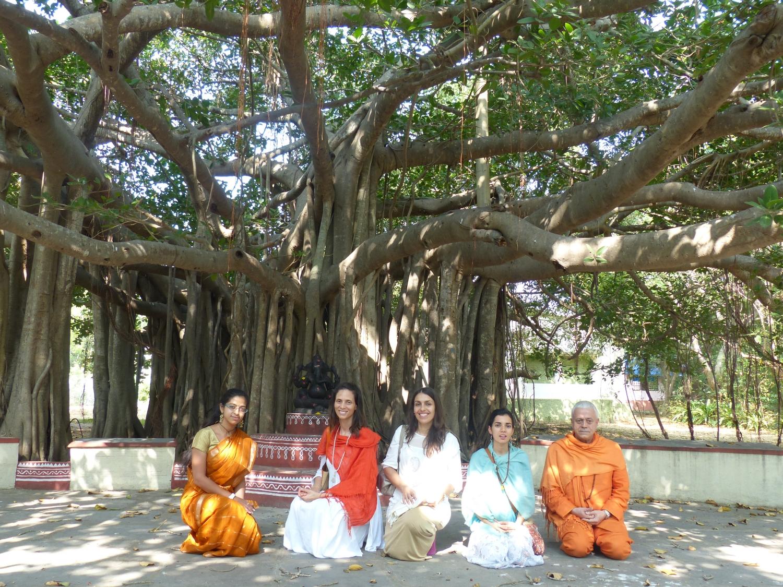 Visita a Kalakshetra, Índia - 2014, Janeiro