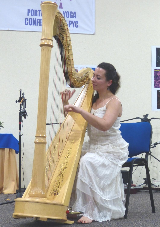 Harpa que toca o Ser - recital - Ana Isabel Dias