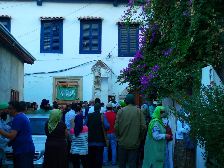 Encontro com Moulana Shaykh Nazim - Líder da Ordem Sufi Naqshbandi Haqqani - Chipre - 2013, Outubro