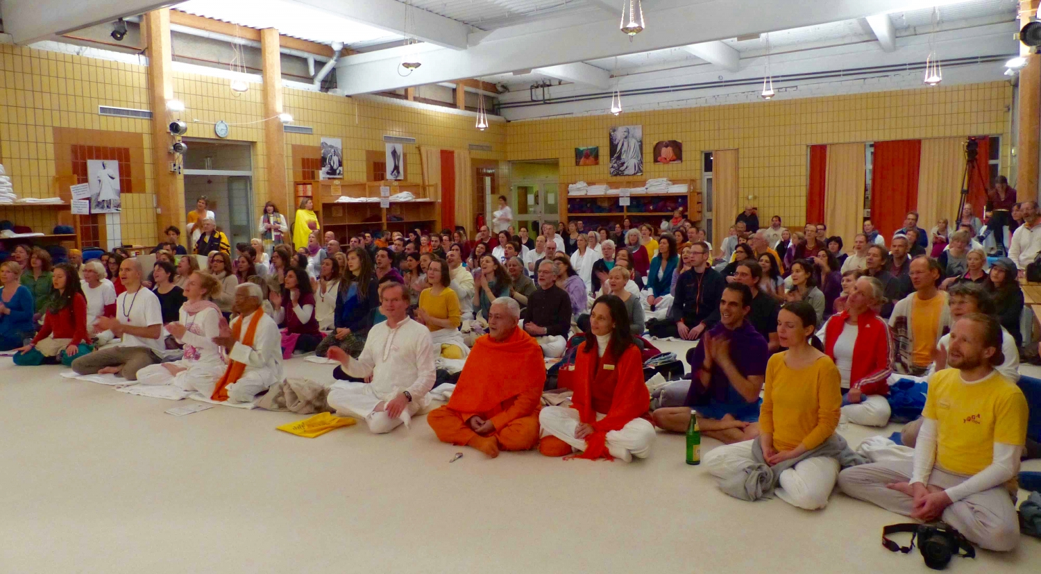 1º Congresso Europeu do Yoga - 2014 - Bad-Meinberg, Hannover, Alemanha