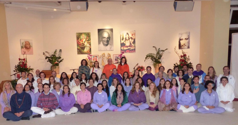 A Delegação da Confederação Portuguesa do Yoga
