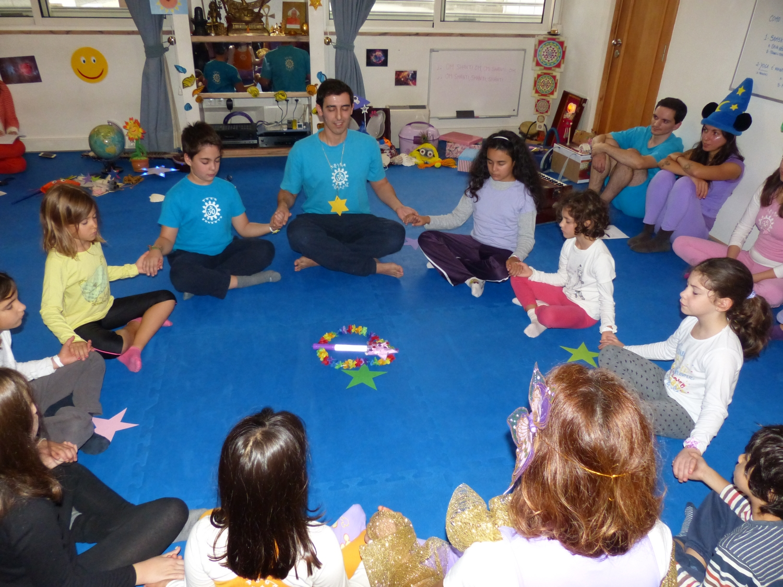 Curso de Especialização do Yoga para Crianças, 2014