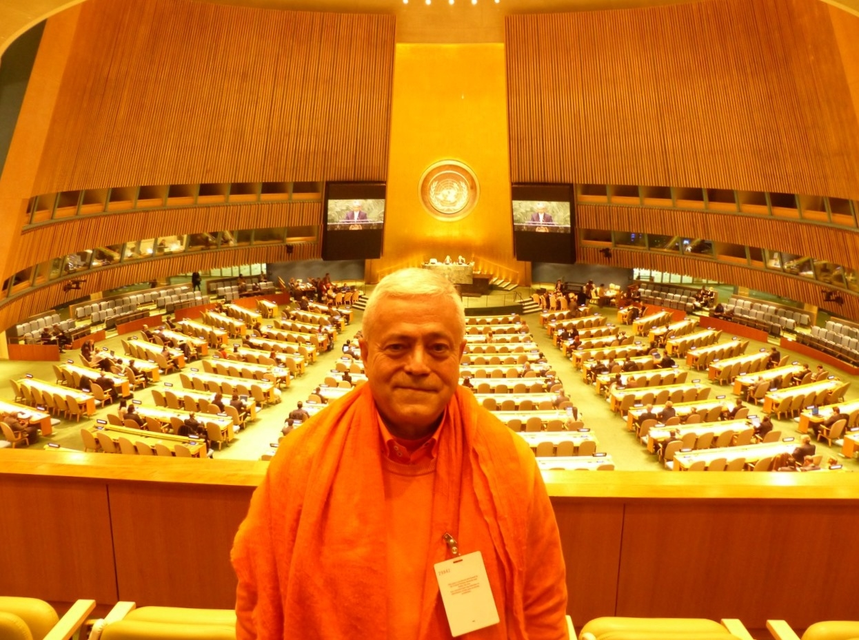 Proclamation at the UN of the International Day of Yoga - IDY
