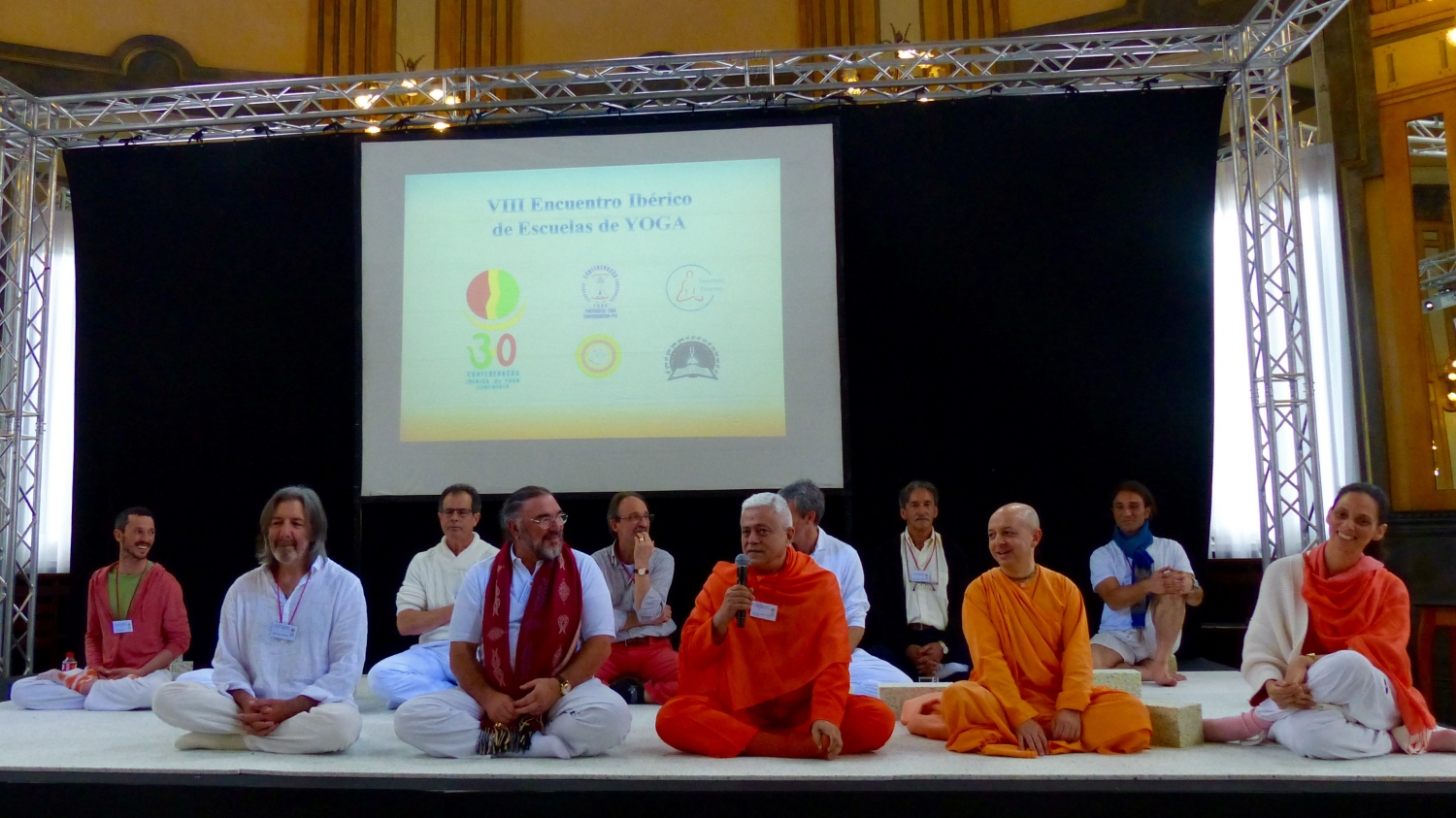 Opening Ceremony of the 8th Iberian Yoga Meeting