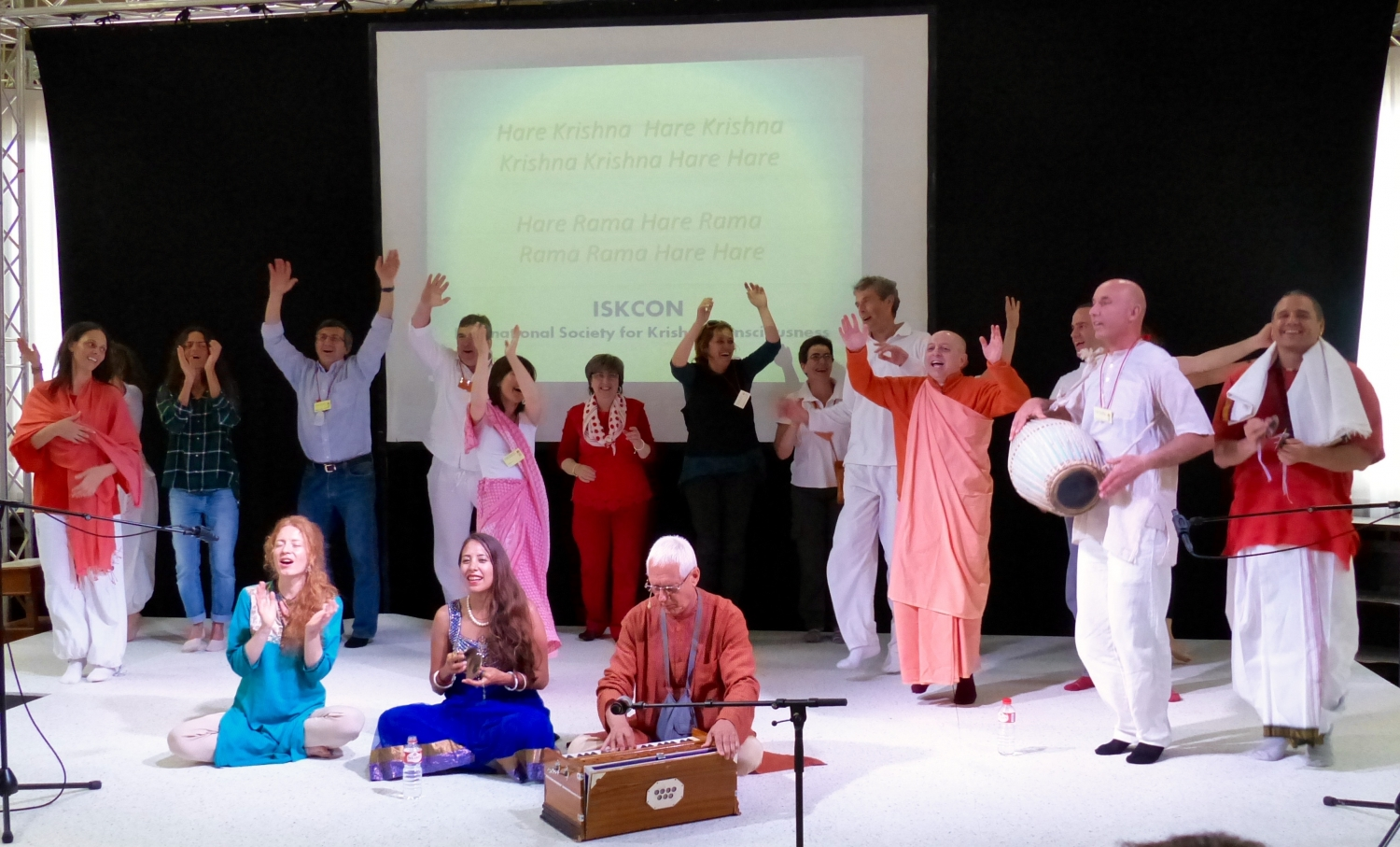 Mantra Presentation by ISKCON - Hare Krshna Spain