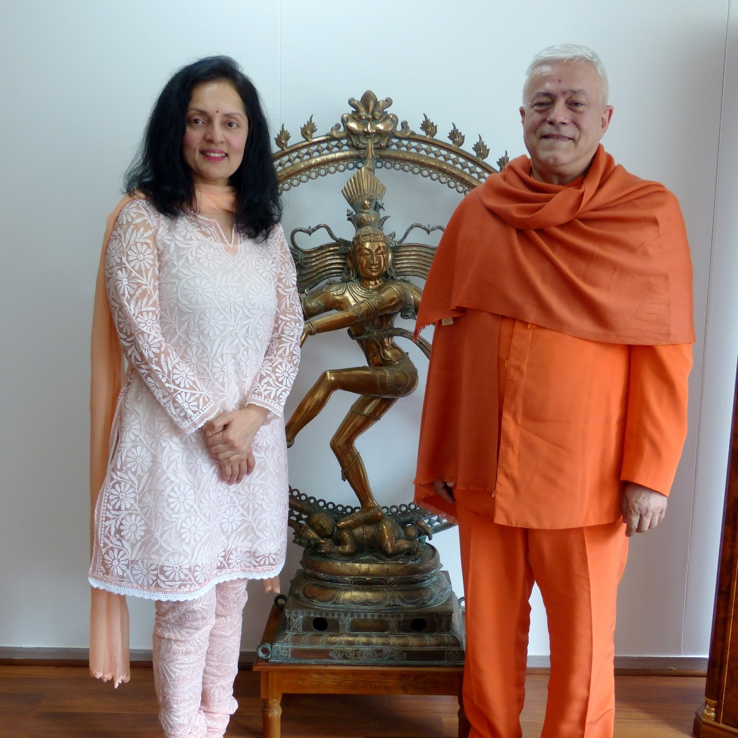 Meeting with H.E. the Ambassador of India to UNESCO, Ms. Ruchira Kamboj – Paris – 2015, May, 13 (...)