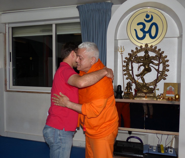 Visita del Presidente de la Unión Budista Portuguesa Visita del Presidente de la Unión Budista Portuguesa