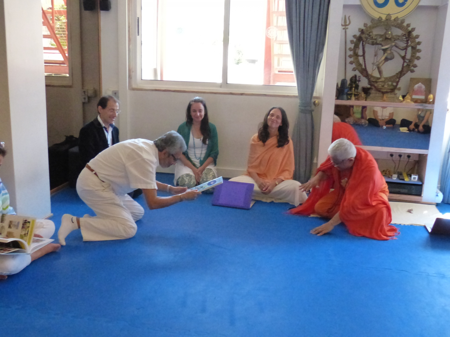 Visita de Bawa Jain - Secretário Geral do World Council of Religious Leaders - na Sede da Confederação Portuguesa do Yoga, Lisboa – 2015