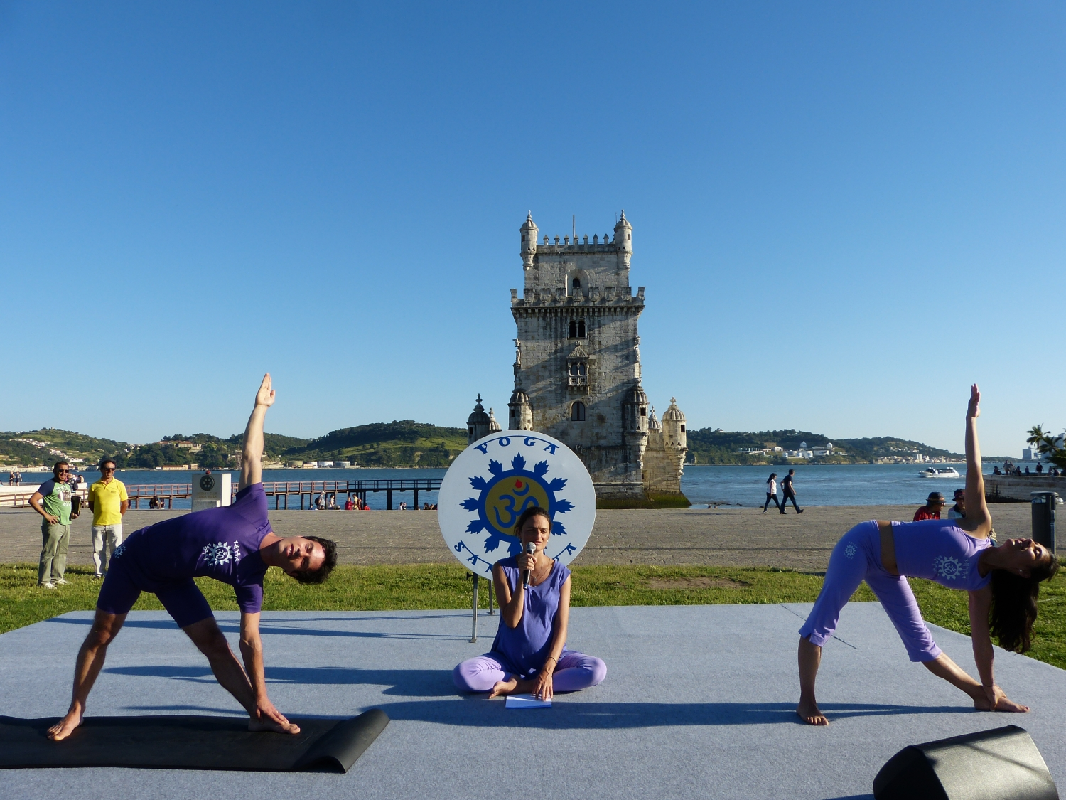 International Day of Yoga - IDY - 2016, Junho, 21 - Belém, Portugal