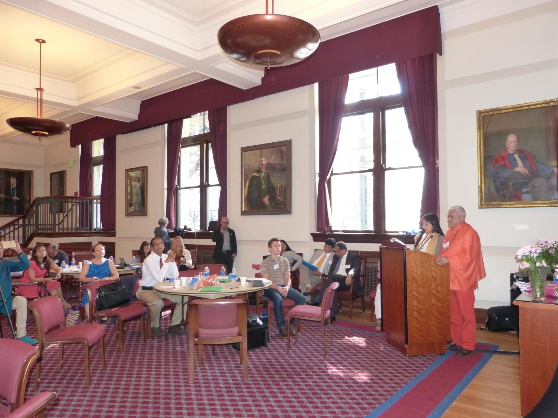 Syposium sur le  Médicine Intégrative et le Rôle du Yoga et de l'Ayurveda - Harvard University, Boston, USA - 2016, juin