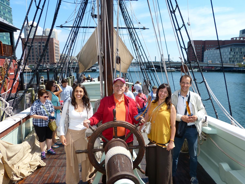 Boston Tea Party - O nosso Timoneiro