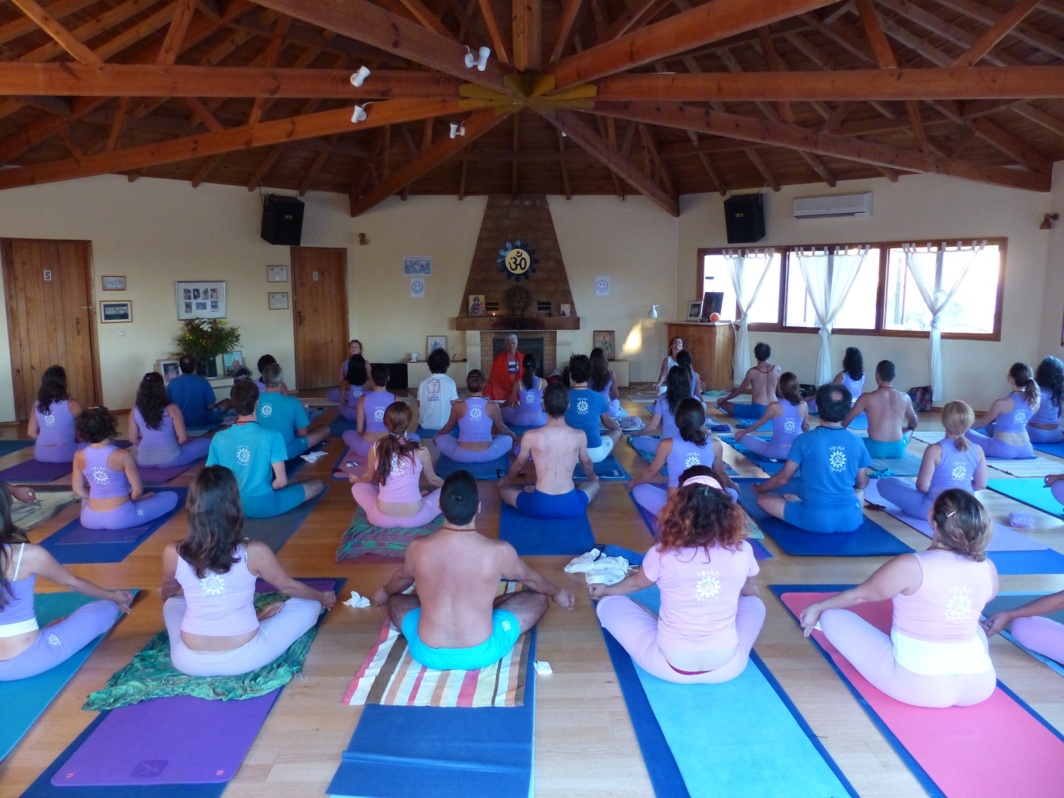 Semana Intensiva do Yoga - 2015 - Quinta da Calma, Algarve