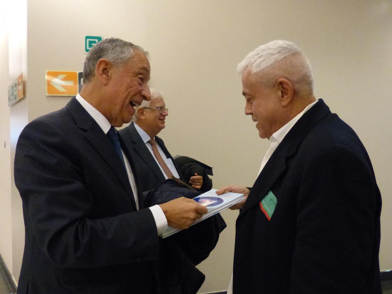 Com o Prof. Marcelo Rebelo de Sousa