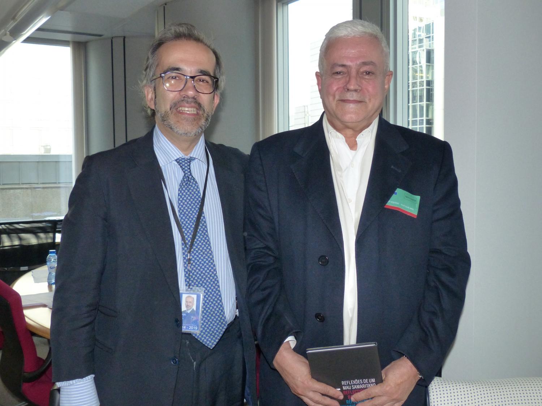 Com o Eurodeputado Dr. Paulo Rangel