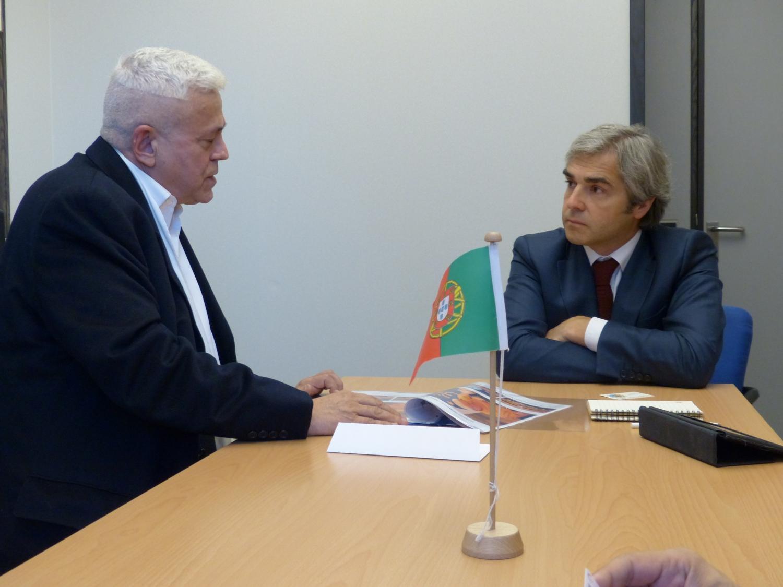 Com o Eurodeputado Dr. Nuno Melo