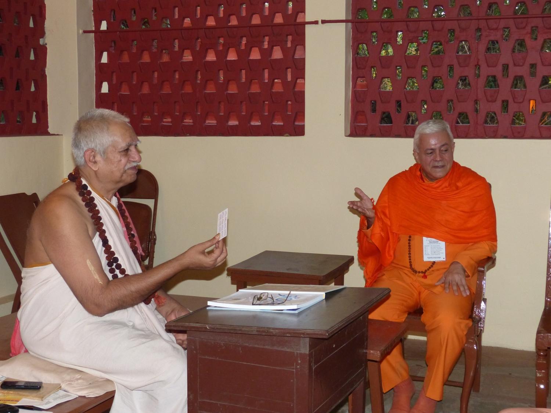 Com Svámin Maheshánanda Jí