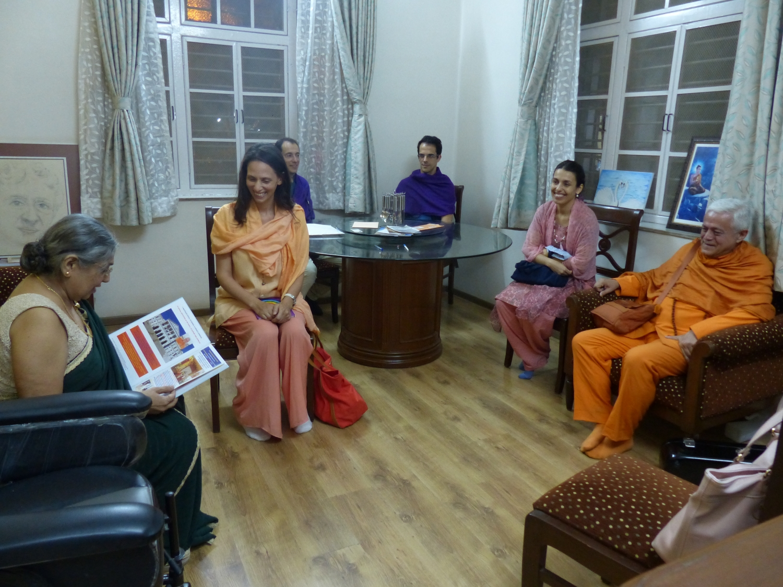 Encontro com Dr. Jayadeva Yogendra - The Yoga Institute of Santa Cruz, Mumbai, Índia - 2016, Janeiro