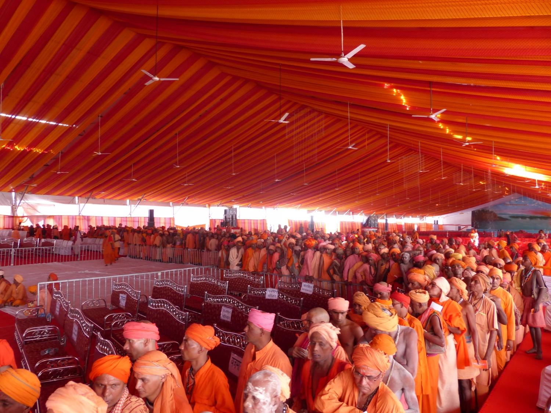 Cerimónia de Iniciação dos Sádhu