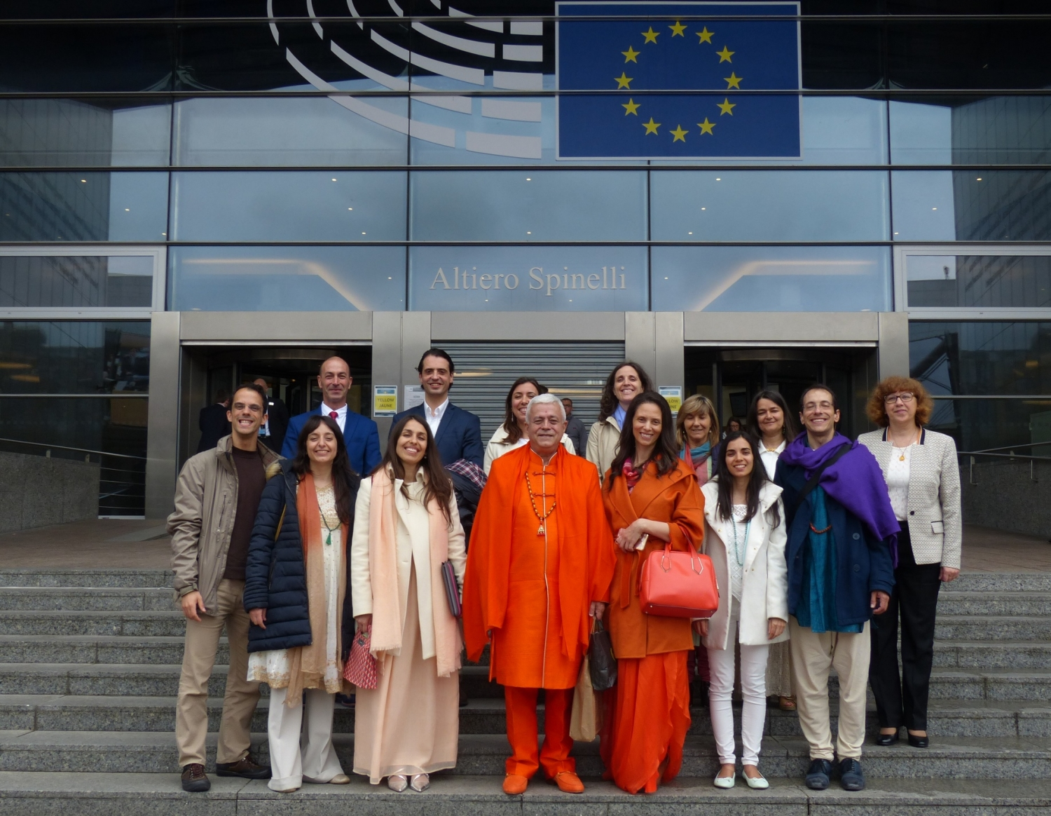 Solemn Closing Ceremony of the 2nd European Yoga Congress - 2016 - European Parliament in Brussels