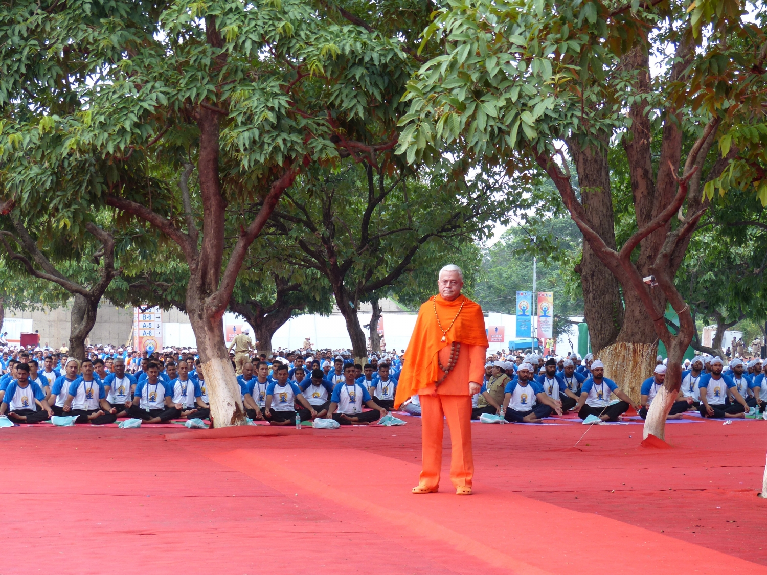 International Day of Yoga / IDY 2016 - Chandigarh, Inde - Dirigé par Shrí Narendra Modi