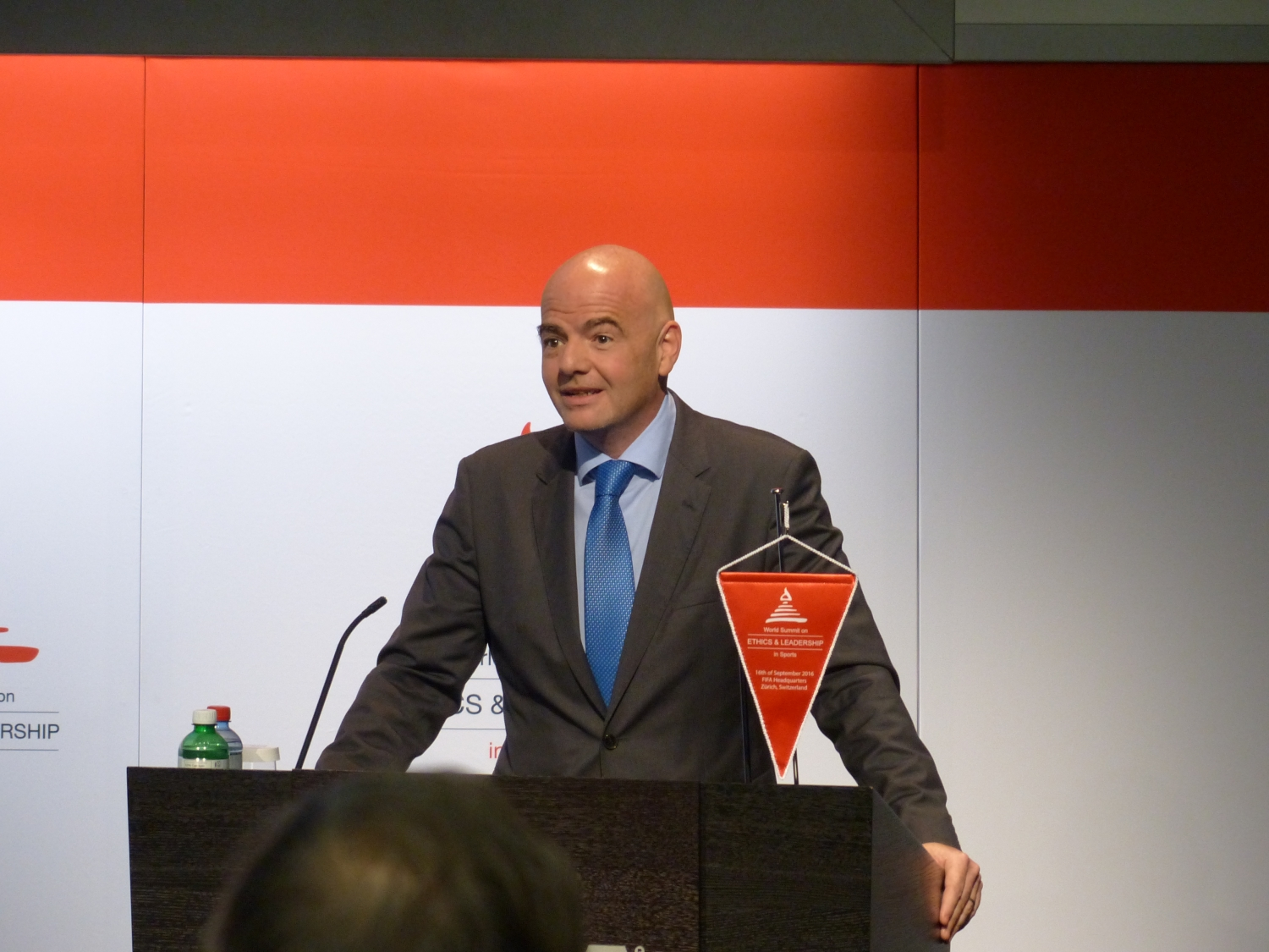 President of the FIFA - Dr. Gianni Infantino