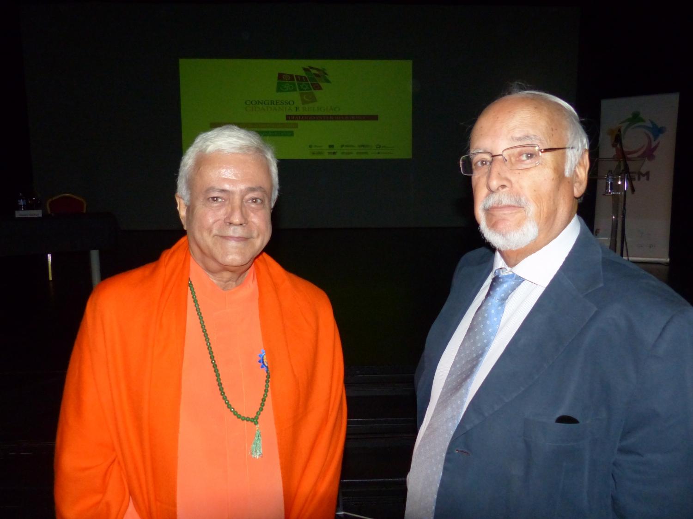 Com Dr. Vera Jardim - Presidente da Comissão da Liberdade Religiosa
