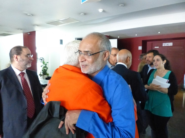 Com Sheik David Munir - Imam da Mesquita Central de Lisboa